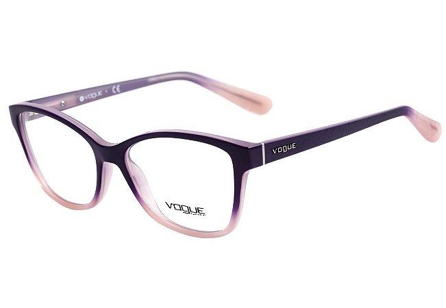 67560fe9ec16b Armação Óculos de Grau Vogue Feminino VO2998 2347 - Ótica Quartz