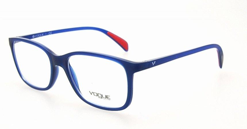 479d5cf6e247a Armação Óculos de Grau Vogue Masculino Casual Chic VO2912 2130 ...
