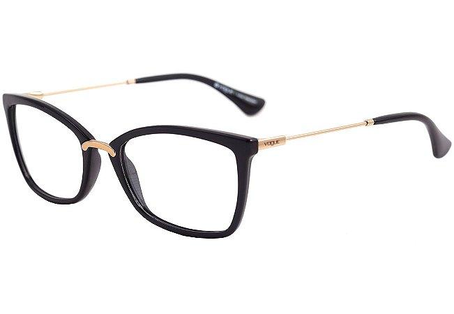 b727d998b442f Armação Óculos de Grau Vogue Feminino VO5158L W44 - Ótica Quartz
