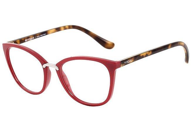 6233b60471915 Armação Óculos de Grau Vogue Feminino VO5121L 2294 - Ótica Quartz