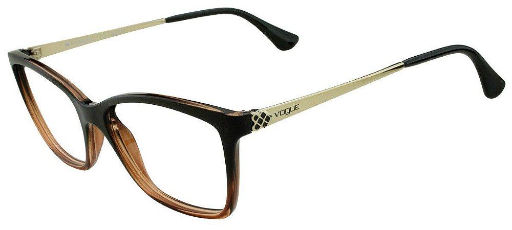 Armação Óculos de Grau Vogue Unissex VO5043L 2505 - Ótica Quartz 190a8d175c