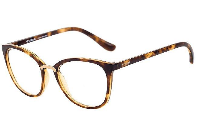 fb4891376e7d7 Armação Óculos de Grau Vogue Feminino VO5121L W656 - Ótica Quartz