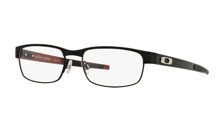 5be9fe00cda87 Armação Óculos de Grau Oakley Masculino Carbon Plate