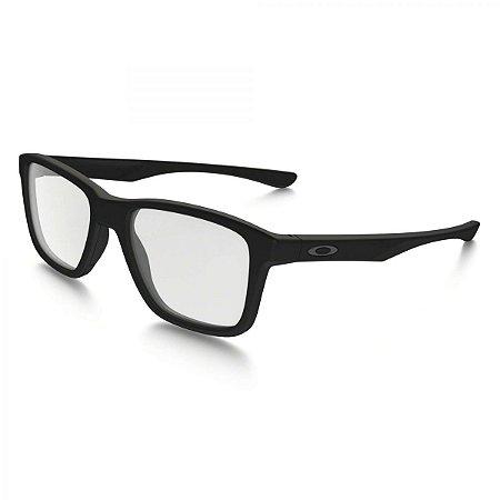 Armação Óculos de Grau Oakley Masculino Trim Plane OX8107-01 - Ótica ... b01b6835e8