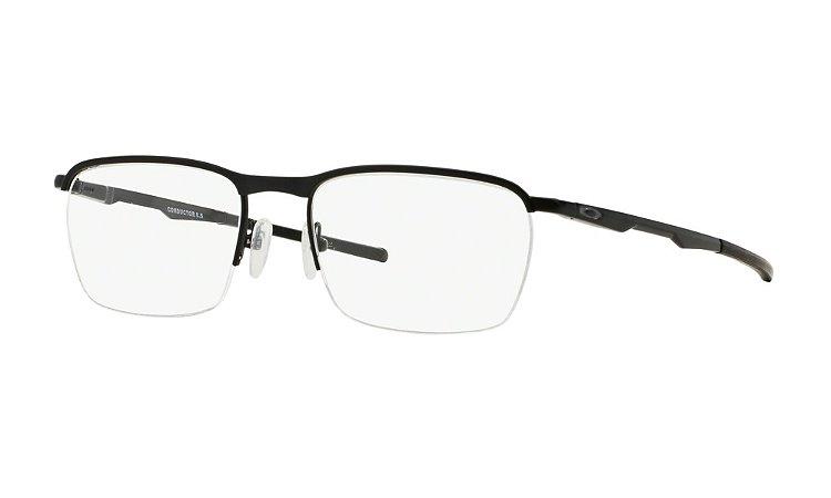 Armação Óculos de Grau Oakley Masculino Conductor 0.5 OX3187-01 ... 26c7452098