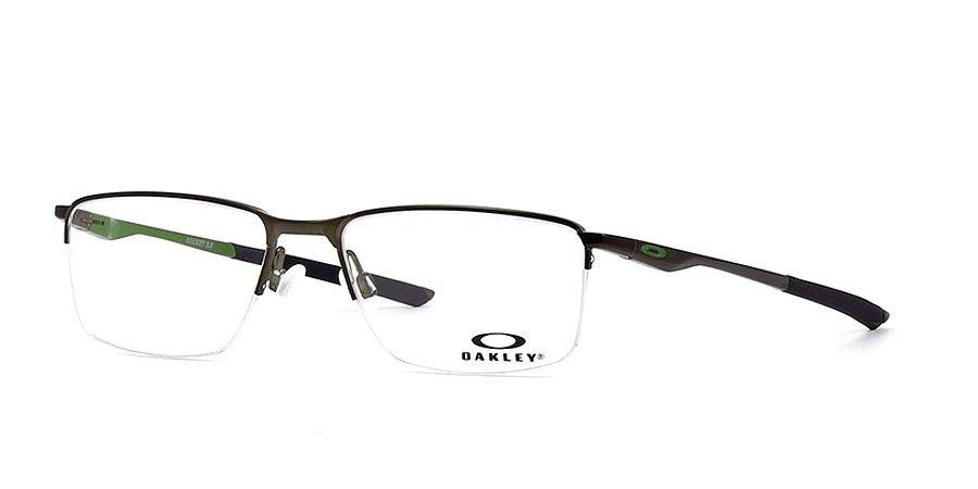 Armação Óculos de Grau Oakley Unissex Socket 5.5 OX3218-02 - Ótica ... 20e90c7d8a