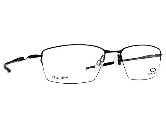 4dd5c622948 Armação Óculos de Grau Oakley Masculino Lizard Titanium OX5113-04