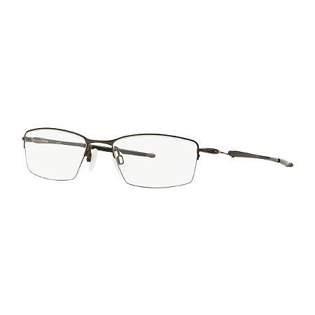 853e84081b9 Armação Óculos de Grau Oakley Masculino Lizard Titanium OX5113-02