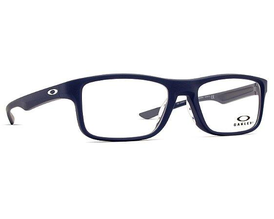 0b31645689cc7 Armação Óculos de Grau Oakley Masculino Plank 2.0 OX8081-03 - Ótica ...