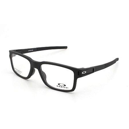 Armação Óculos de Grau Oakley Masculino Latch EX OX8115-01 - Ótica ... 8e2cdcbb0c