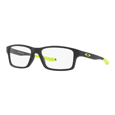 ec4fc6a1535af Armação Óculos de Grau Oakley Infantil Crosslink XS OY8002-06 ...