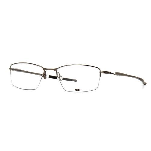 5660ffe5e88b4 Armação Óculos de Grau Oakley Masculino Lizard Titanium OX5113-03 ...