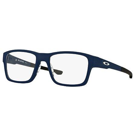 Armação Óculos de Grau Oakley Masculino Splinter OX8077-07 - Ótica ... c0f68dfb74