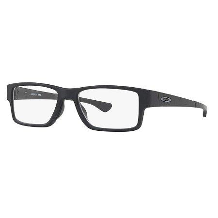 Armação Óculos de Grau Oakley Masculino Airdrop MNP OX8121-01 ... ec1aa48348