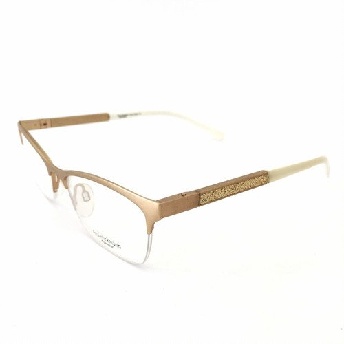 Armação Óculos de Grau Ana Hickmann Feminino AH1282 04B - Ótica Quartz 74d058cb00