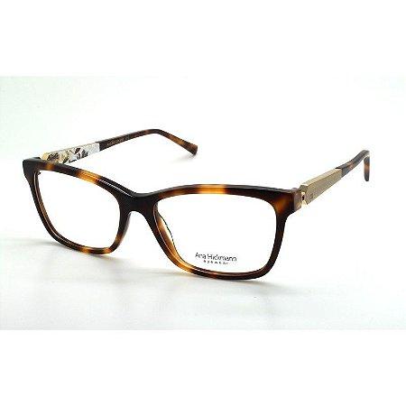 b1d76657a5752 Armação Óculos de Grau Ana Hickmann Feminino AH6260 G21 - Ótica Quartz