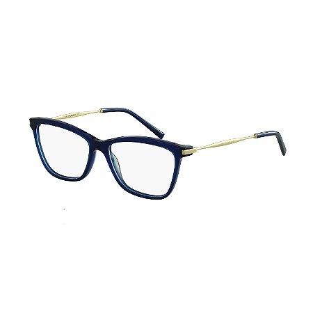 3cd64429c Armação Óculos de Grau Ana Hickmann Feminino AH6254 T01S - Ótica Quartz