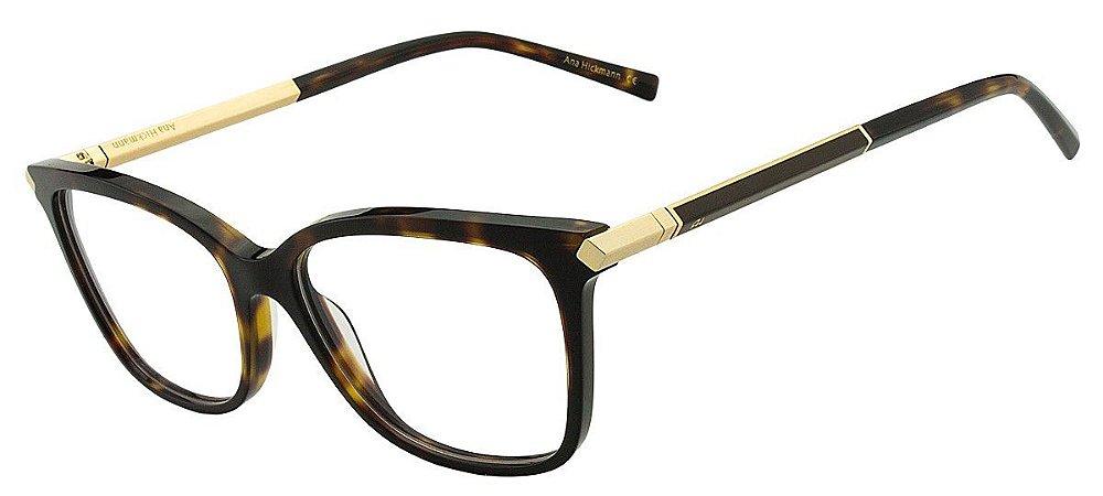 07a6aca7e9a1a Armação Óculos de Grau Ana Hickmann Feminino AH6292 G22 - Ótica Quartz