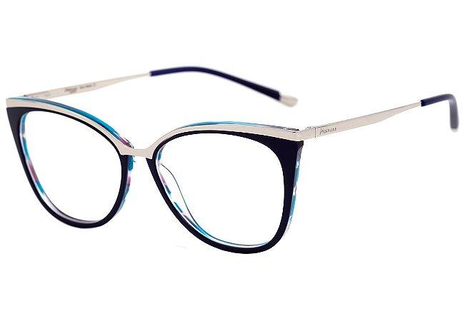 e57ac946a Armação Óculos de Grau Hickmann Feminino HI6060 H02 - Ótica Quartz