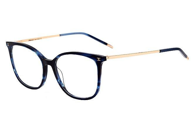 bf2661063108a Armação Óculos de Grau Hickmann Feminino HI6092 E03 - Ótica Quartz