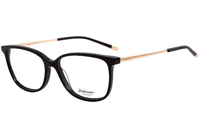a14a00661 Armação Óculos de Grau Hickmann Feminino HI6048 A01 - Ótica Quartz