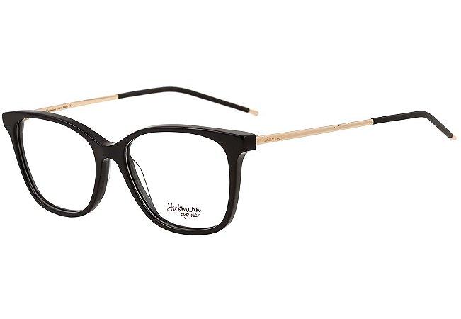 6317fdb8adc03 Armação Óculos de Grau Hickmann Feminino HI6042 A01 - Ótica Quartz