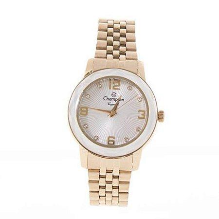 f76a8bcb1499a Relógio Champion Feminino Crystal Analógico CN25332H - Ótica Quartz