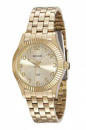 Relógio Seculus Feminino Long Life Analógico 23549LPSVDA1