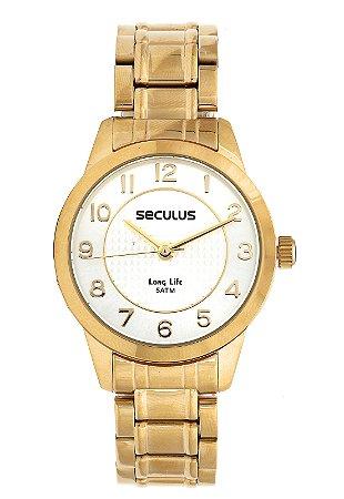 Relógio Seculus Feminino Long Life Analógico 28874LPSVDA1