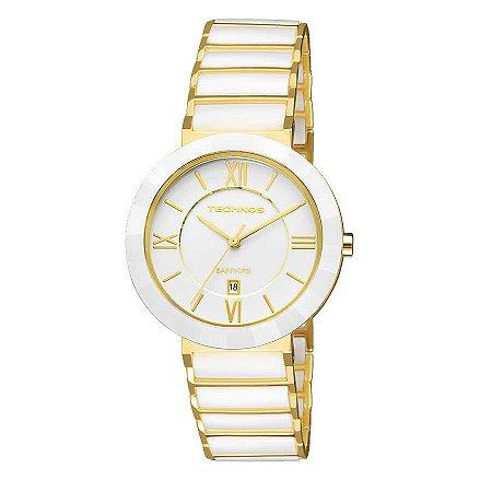Relógio Technos Feminino Elegance Ceramic Sapphire Analógico 2015CE ... 8090047eb0
