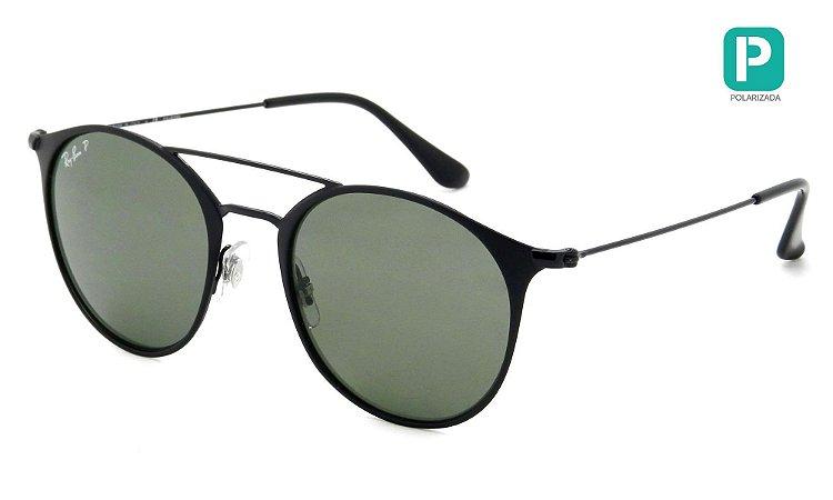 Óculos de Sol Ray-Ban Round RB3546 186/9A 52 Polarizado