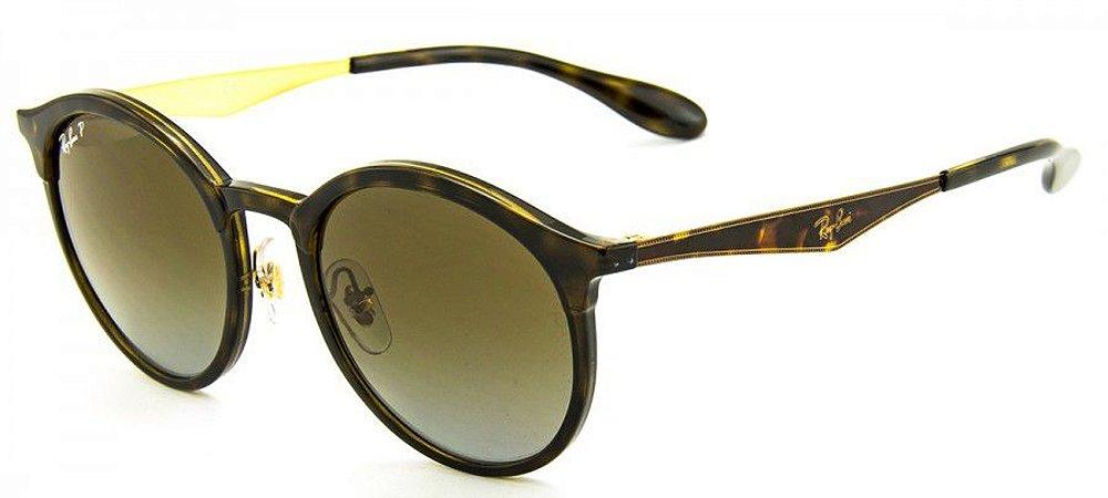 6aa375d9d3685 Óculos de Sol Ray-Ban Emma RB4277 710 T5 51 Polarizado - Ótica Quartz