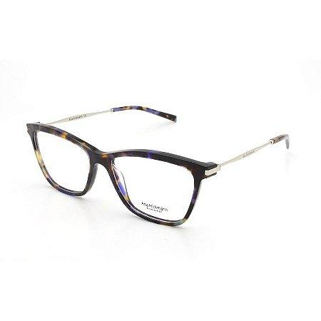 5186a1795bfcf Armação Óculos de Grau Ana Hickmann Feminino AH6254 G22 - Ótica Quartz
