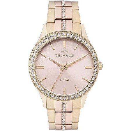 Relógio Technos Feminino Elegance Crystal Analógico 2035MMJ 5T ... dea64738c6