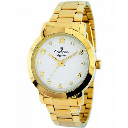 d84b5b131ae Relógio Champion Feminino Elegance Analógico CN26573H - Ótica Quartz