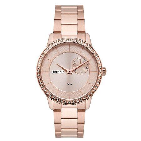d6927b6b79659 Relógio Orient Feminino Cristais Swarovski Analógico FRSSM025 R1RX ...