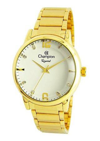 Relógio Champion Feminino Crystal Analógico CN25529H