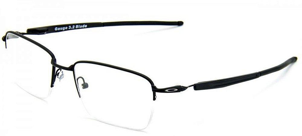 Armação Óculos de Grau Oakley Masculino Gauge 3.2 Blade OX5128-01 ... 21d5e1f1cc
