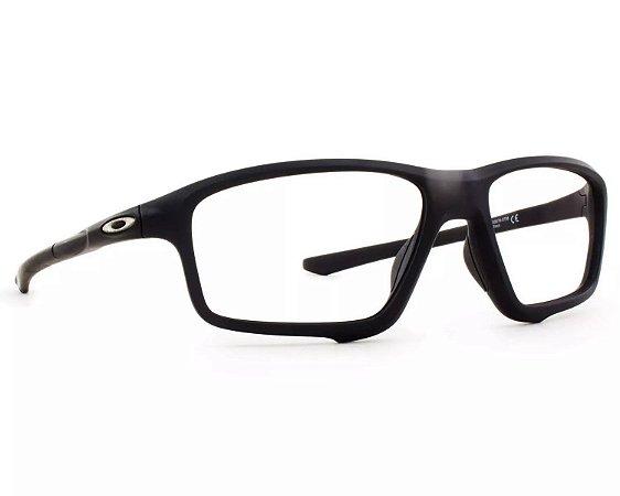 Armação Óculos de Grau Oakley Masculino Crosslink Zero OX8076-07 ... 04fb18df86