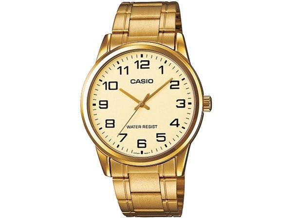 12386db0f76ae Relógio Casio Masculino Analógico MTPV001G9BUDF - Ótica Quartz