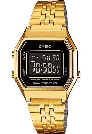 13459bc20fb Relógio Casio Feminino Vintage Digital LA680WGA1BDF - Ótica Quartz