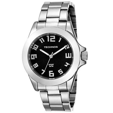 Relógio Technos Masculino Classic Steel Analógico 2035VY 1P - Ótica ... e79be838f9