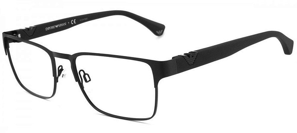9c661cb1b Armação Óculos de Grau Emporio Armani Masculino EA1027 3001 - Ótica ...