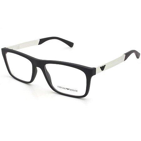 5110f36cc Armação Óculos de Grau Emporio Armani Masculino EA3101 5042 - Ótica ...