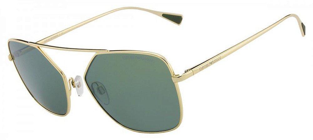 9cfc9ad0a Óculos de Sol Emporio Armani Masculino EA2053 3013/6R 56 - Ótica Quartz