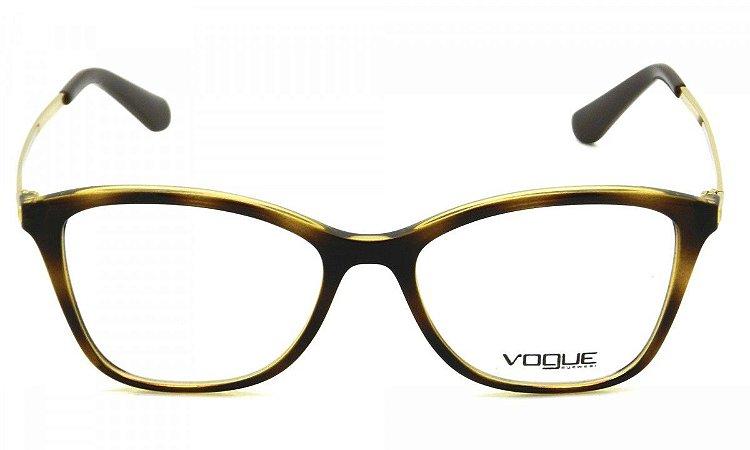 Armação Óculos de Grau Vogue Feminino VO5152L W656 - Ótica Quartz d64ffe3dbe