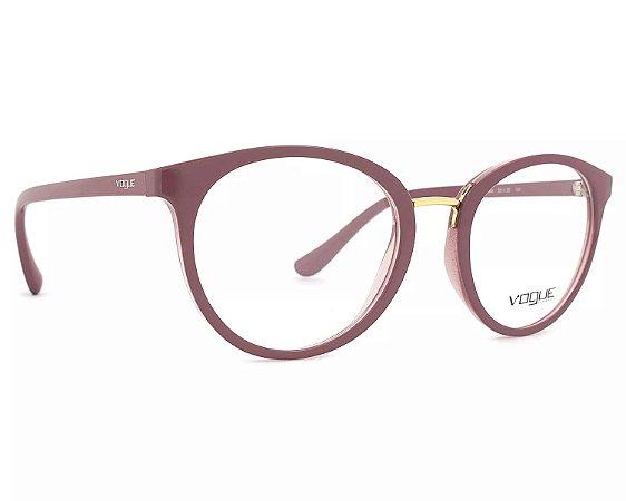 a996eb71d0efd Armação Óculos de Grau Vogue Feminino Outline VO5167L 2554 - Ótica ...