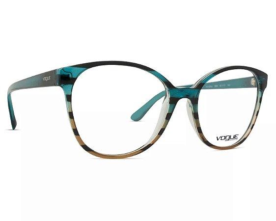 e81b5a33706c5 Armação Óculos de Grau Vogue Feminino VO5234L 2650 - Ótica Quartz
