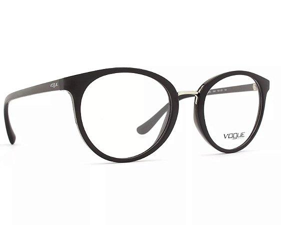 Armação Óculos de Grau Vogue Feminino Outline VO5167L W44 - Ótica Quartz a1e883baf8