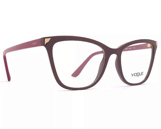 Armação Óculos de Grau Vogue Feminino Metallic Beat VO5206L 2597 ... fa19f09a2c